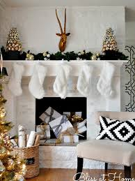 Christmas Decoration For Mantelpiece by Top 40 Elegant Black And Gold Christmas Decoration Ideas