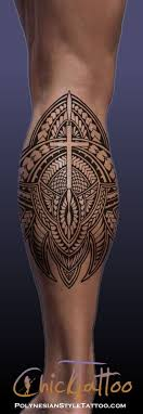 collection of 25 lower leg tribal maori style band design