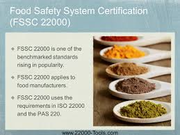 and food safety management system certification ppt download