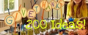 200 creative thanksgiving day ideas tip junkie