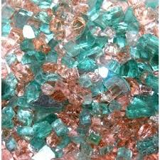 Fire Pit Crystals by Buy Dragon Fire Glass Dfg10 L05s 10 Lb Ocean Blue Fire Glass