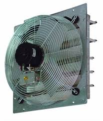 tpi ce10 ds 10 inch shutter mounted direct drive exhaust fan