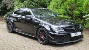 mercedes amg uk mercedes c class 6 3 c63 amg black series 2dr for