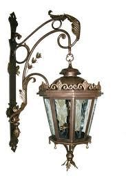 outdoor light mounting bracket custom outdoor cast bronze lighting