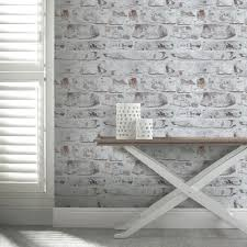 brick wallpaper bedroom 25 living room with brick wallpaper popular white clothing store