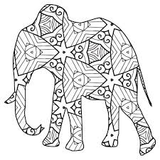 30 free coloring pages a geometric animal coloring book just
