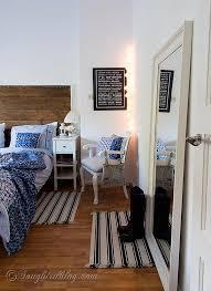 Ikea Hemnes Nightstand Blue Bedroom Decorating With An Ikea Hemnes Mirror