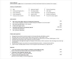 automobile resume template u2013 22 free word pdf documents download
