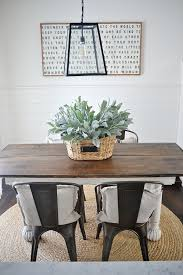 farmhouse table with metal chairs new rustic metal and wood dining chairs liz marie blog farmhouse