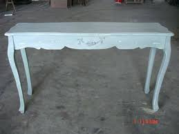 shabby chic white console table uk and mirror rustic shelf space