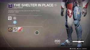 the shelter destiny 2 beta all exotics weapons and armour and how to get