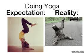 Yoga Meme - a fun look at yoga