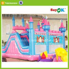 Princess Castle Bunk Bed Sale Cheap Inflatable Air Princess Bounce Castle Bunk Bed With