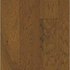 Hickory Laminate Flooring Lowes Shop Bruce 5 In W Prefinished Hickory Flooring Classic Brown At