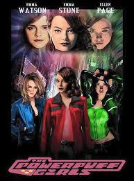 false johnny bravo and powerpuff girls movie posters