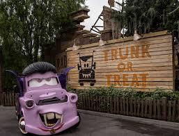 cars characters mater haul o ween at cars land