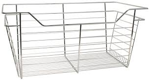 Hafele Laundry Hamper by Wire Closet Basket With Full Extension Slides In The Häfele