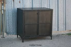 Metal Locker Nightstand Buy A Hand Crafted Industrial Night Stand End Table Reclaimed
