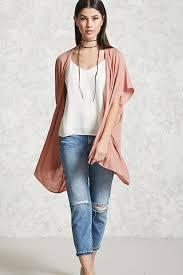 textured open front kimono women outerwear kimonos blazers