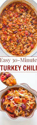 leftover thanksgiving turkey chili recipe easy 30 minute turkey chili averie cooks