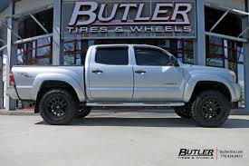 nissan tacoma toyota tacoma with 17in fuel vector wheels exclusively from butler