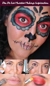 sugar skull halloween makeup 362 best dia de los muertos makeup images on pinterest sugar