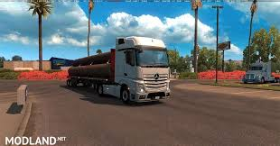 mercedes actros 2014 mercedes actros 2014 with all cabins accessories mod for