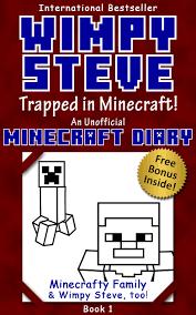 buy minecraft diary wimpy steve book 6 minecraft mysteries