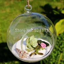 free shipping 8 pcs lot 12cm diameter hanging round glass air