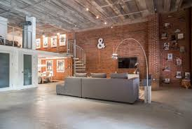 Brick Loft by Ashley U0027s Soft Industrial Artist Loft Artist Loft Ashley S And