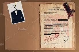 top secret report template top secret file mockup design product mockups creative market