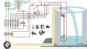 automatic water level controler single phase motor starter
