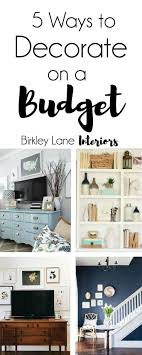 Cheap Way To Decorate Home | how to make your home look expensive on a budget the everygirl