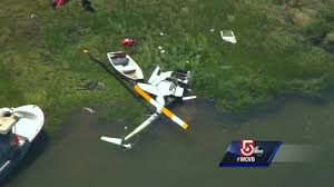federal investigators at site of helicopter crash on cape cod