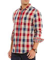 Gingham Vs Plaid Vs Tartan Men Shirts Dillards Com