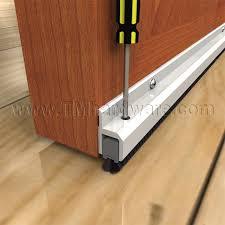 Door Bottom Sweeps For Exterior Doors High Quality Adjustable Door Bottom Sweep With Pile Insert Sold