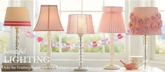 girls room lamps lighting and ceiling fans