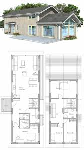 apartments narrow home best narrow house plans images on
