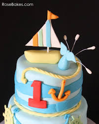 boat cake topper behance