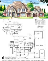 English Tudor House Plans by Plan 4512 U2013 English Tudor Brent Gibson