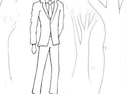 23 slender man coloring pages scary slender man coloring pages