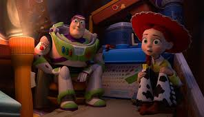 toy story terror images tease woody jessie buzz combat carl