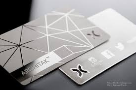 Plasma Design Business Cards Stainless Steel Business Cards Metal Business Cards Free Business