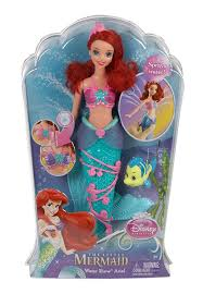 review disney princess ariel mermaid water show flounder