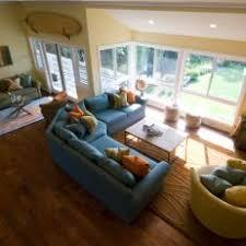 Family Room With Sectional Sofa Yellow Coastal Photos Hgtv