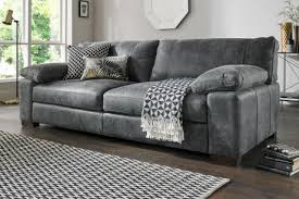 Soft Leather Sofa Grey Leather Sofa And Chair Also Argos With Regard To