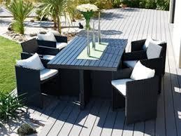 canape de jardin en resine tressee pas cher table et chaise de jardin en resine pas cher table jardin design