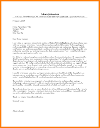mla cover letter example image collections letter samples format