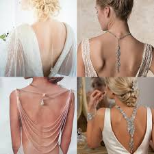 back necklace images Back drop necklace dramatic wedding jewelry trend jpg