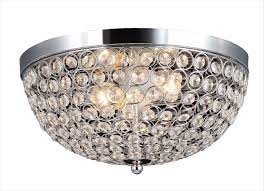 Unique Ceiling Lights by Crystal Flush Mount Ceiling Light Baby Exit Com